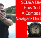 Underwater Navigation For Scuba Divers