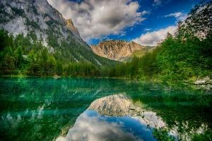 """Gruner See """"Green Lake"""""""