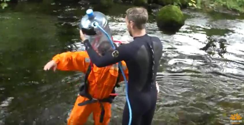 A DIY Scuba Diving Helmet? [Video]