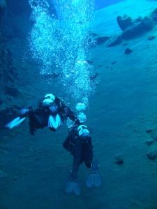 Christina & Kevin Dive Silfra