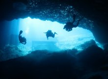 Diving Blue Grotto