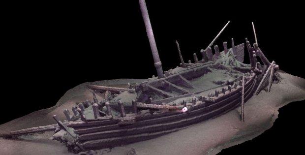 Preserved Ancient Shipwrecks of the Black Sea