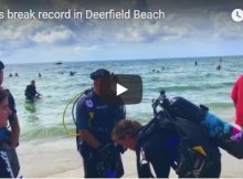 Deerfield Florida Diving Record