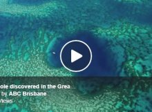 New Blue Hole Discovery In The Great Barrier Reef