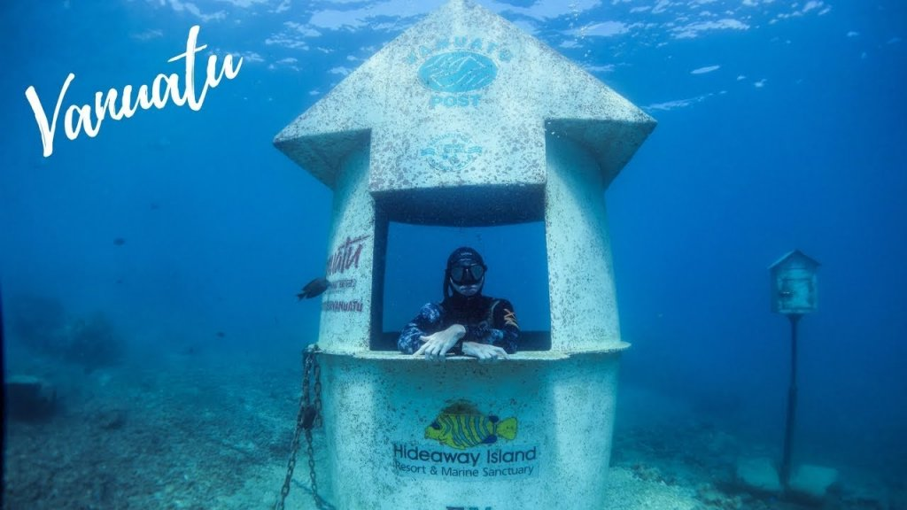 7d602ae6a2e Underwater Post Offices Are Popular Destinations For Scuba Divers  Videos