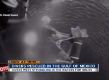 Lost Scuba Divers Rescued at Sea