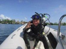 Stranded Diver - Trinidad