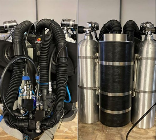 Stolen Dive Equipment
