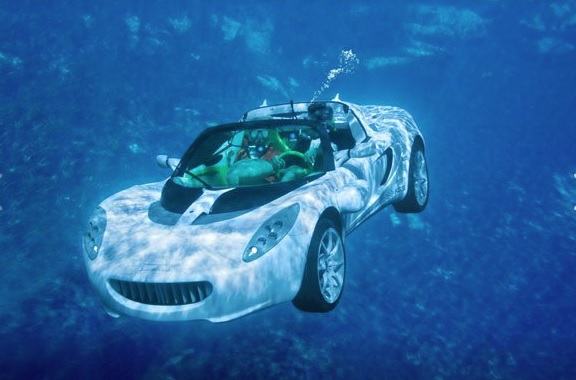 A Car For Scuba Diving - The sQuba by Rinspeed