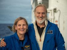 Kathy Sullivan, Victor Vescovo Challenger Deep Record Dive