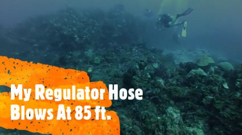 Regulator Hose Blowout