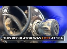 Diver Lost an Recovered Regulator