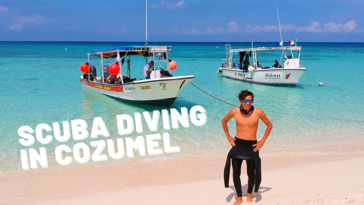 Scuba Diving In Cozumel