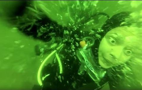 Scuba Diver Panic Attacks