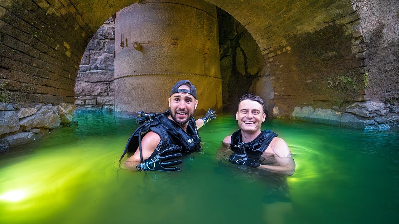 diving an Old Abandoned Power Plant