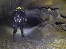 Diving The Tunnels of Bjuralven