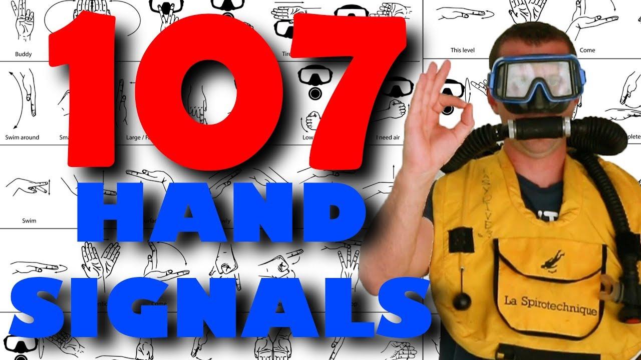 Hand Signals For Scuba Divers