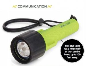 Moray Diver's Communication Torch