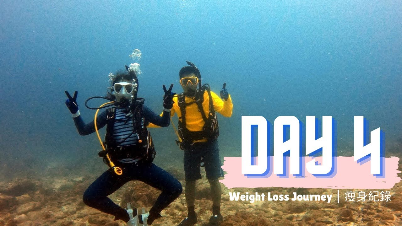 scuba diving for weight loss