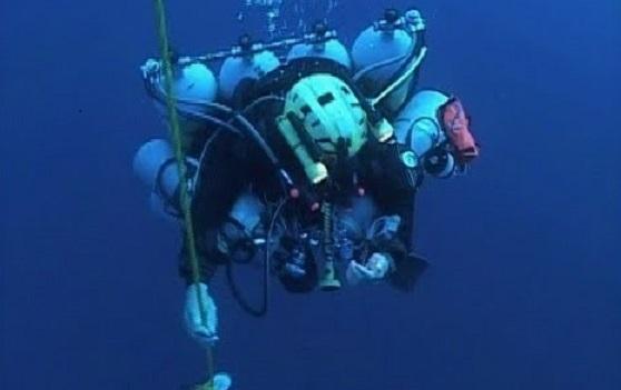 Record Red Sea Dive