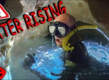 Free Diving Cave Exploration