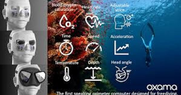Worlds first oximeter computer for divers